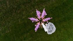 Bridesmaid Drone Image