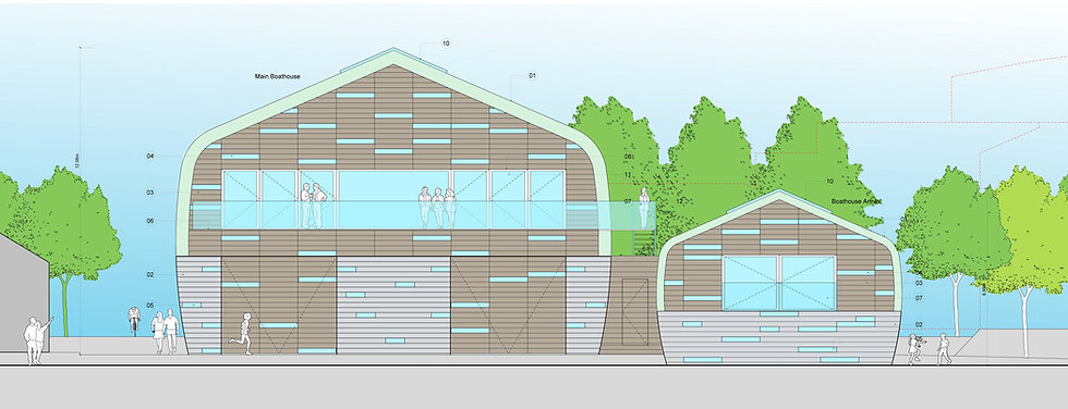 Windsor Boathouse - Architecture by RVRA+D