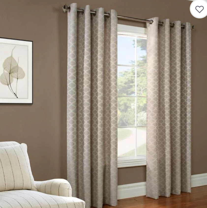 Gladys Grommet Top Curtain BB&B