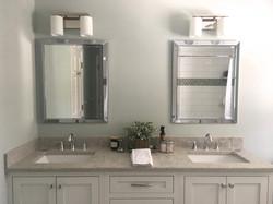 Main Bath double vanity