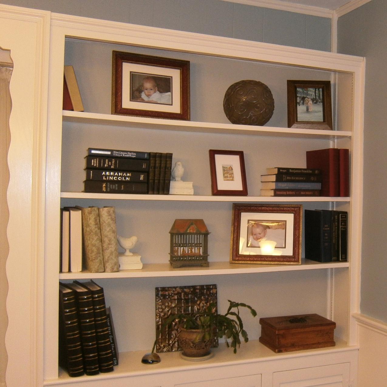 book shelves 3 after