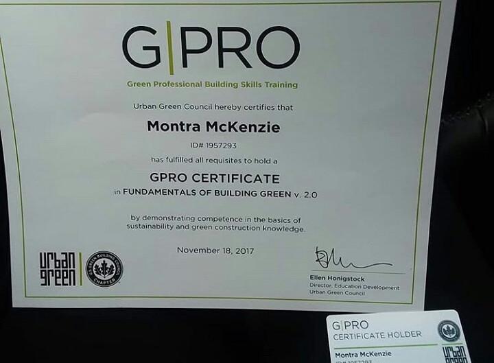 Certified Green Builder