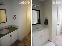 Bathroom flooring upgrade