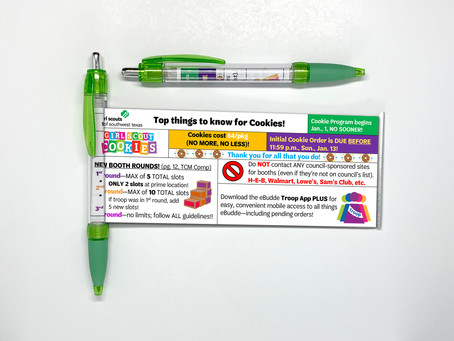 4 Benefits to Giving Out Promotional Banner Pens or Scroll Pens.