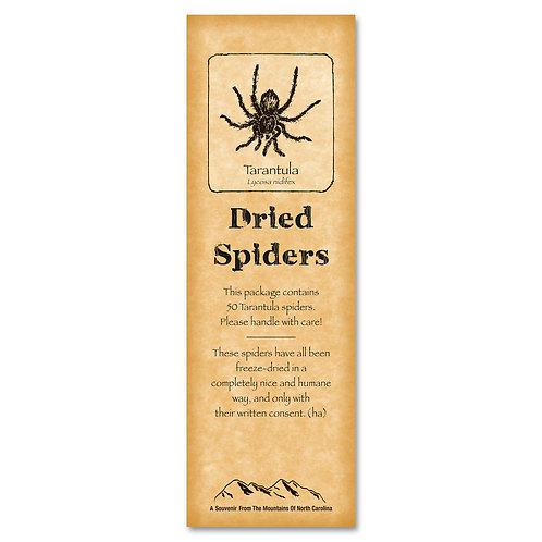 Dried Spiders Got Ya Card
