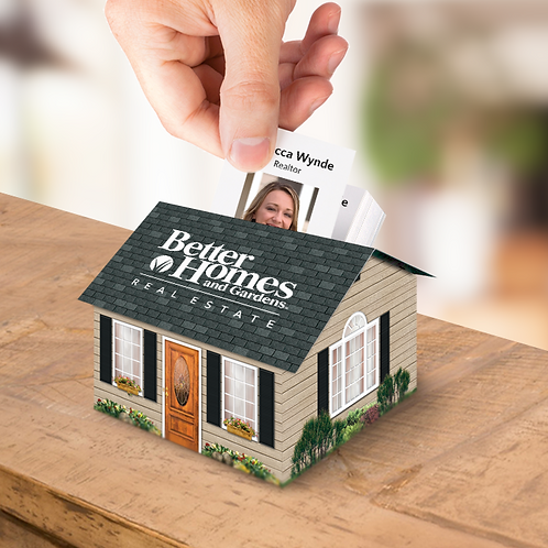 Clapboard - Business Card Display