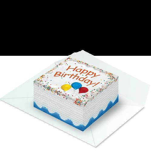 Birthday Cake PopBox