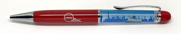 Circle Line Floaty Pen
