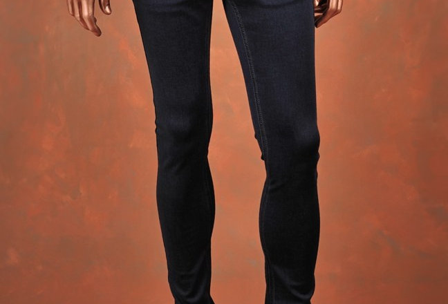 Trousers Blue Slim-Fit