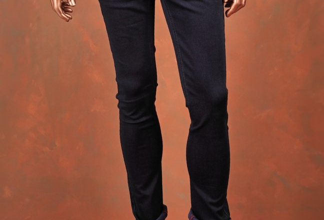 Trousers Blue Slim