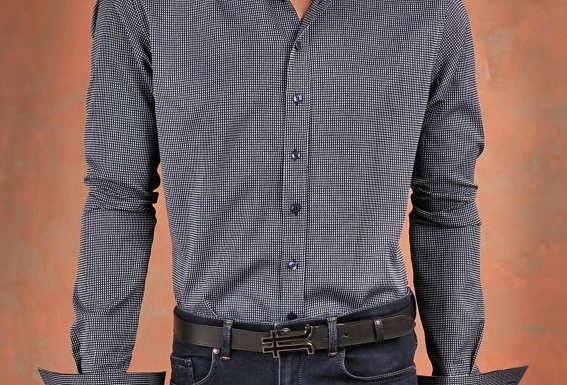 Cotton Shirt Slim