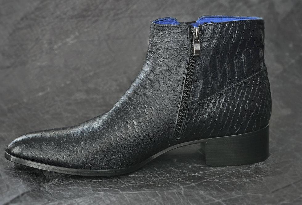 Boot Croco Black