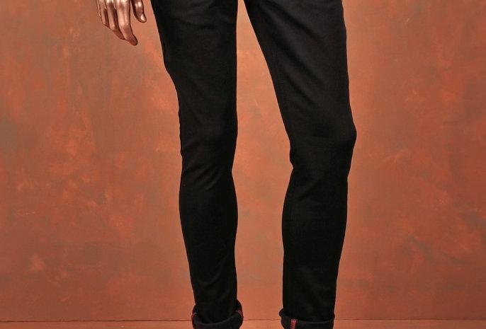 Trousers Black Slim