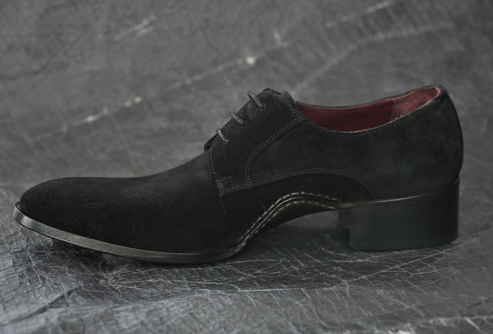 Black Suede Shoe