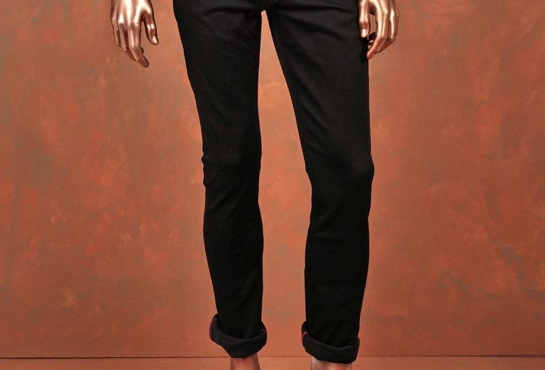 Trousers Black Slim-Fit