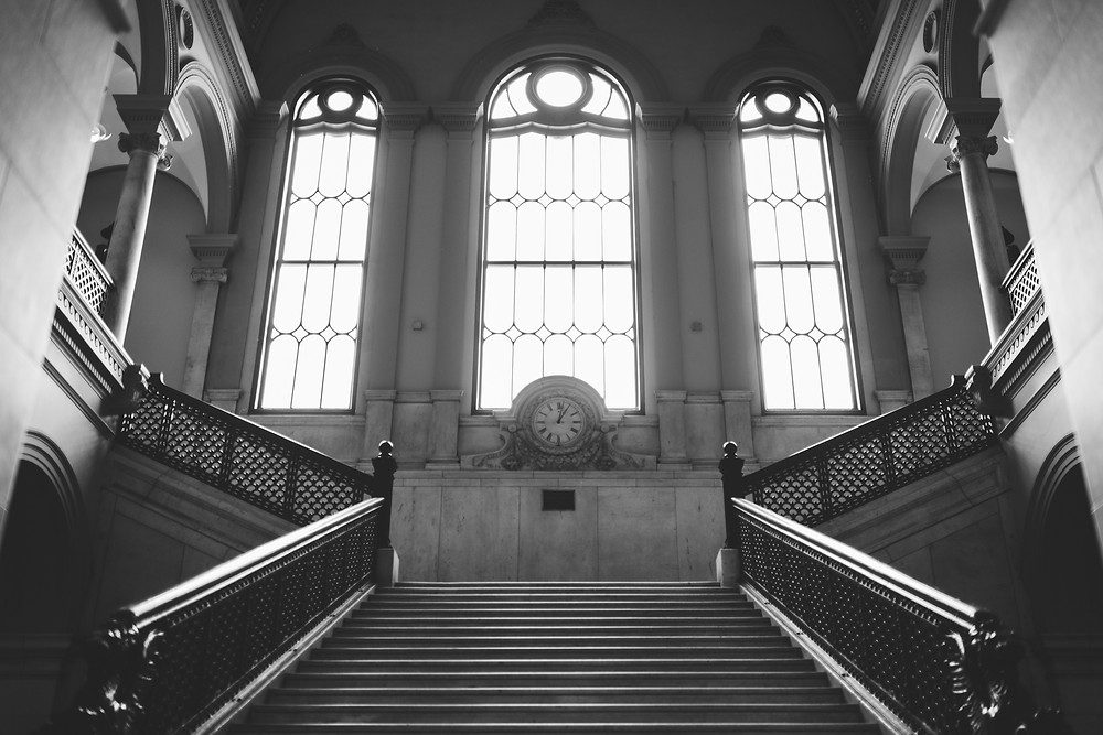 Worcester City Hall Grand Staircase