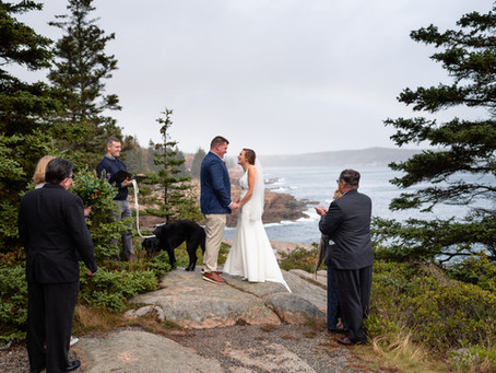Acadia National Park Elopement | Ainsley & Mike