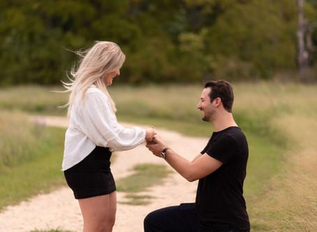 She Said Yes! | Sara & Adam Proposal