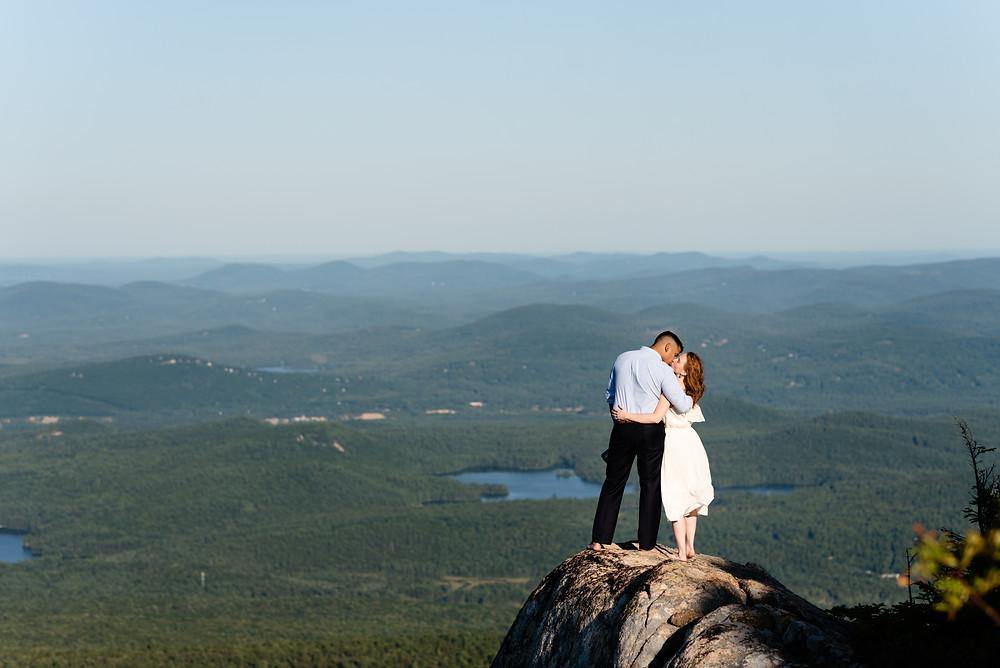 View from Mount Chocorua