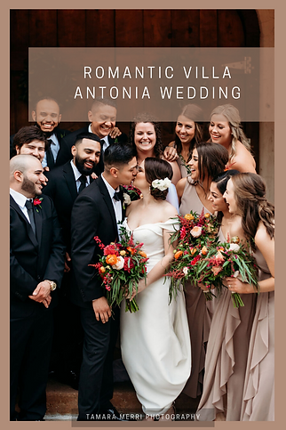 romantic villa antonia wedding