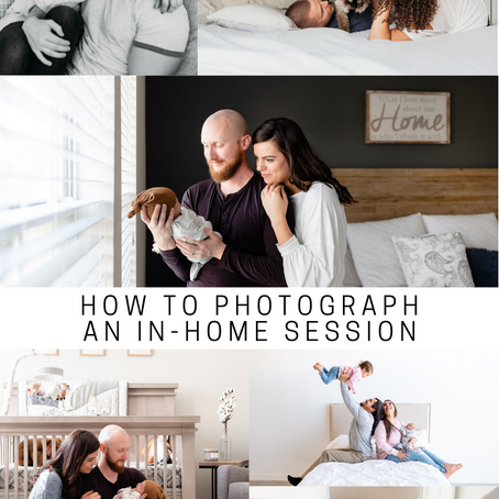 How to photograph an in-home session | Tamara Merri Photography