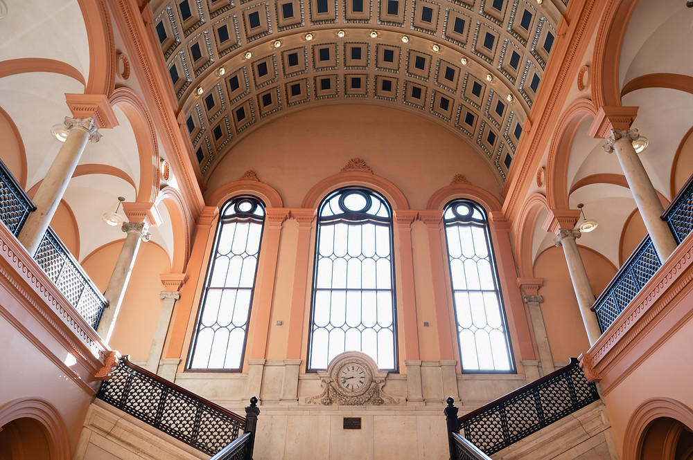 Worcester city hall architecture
