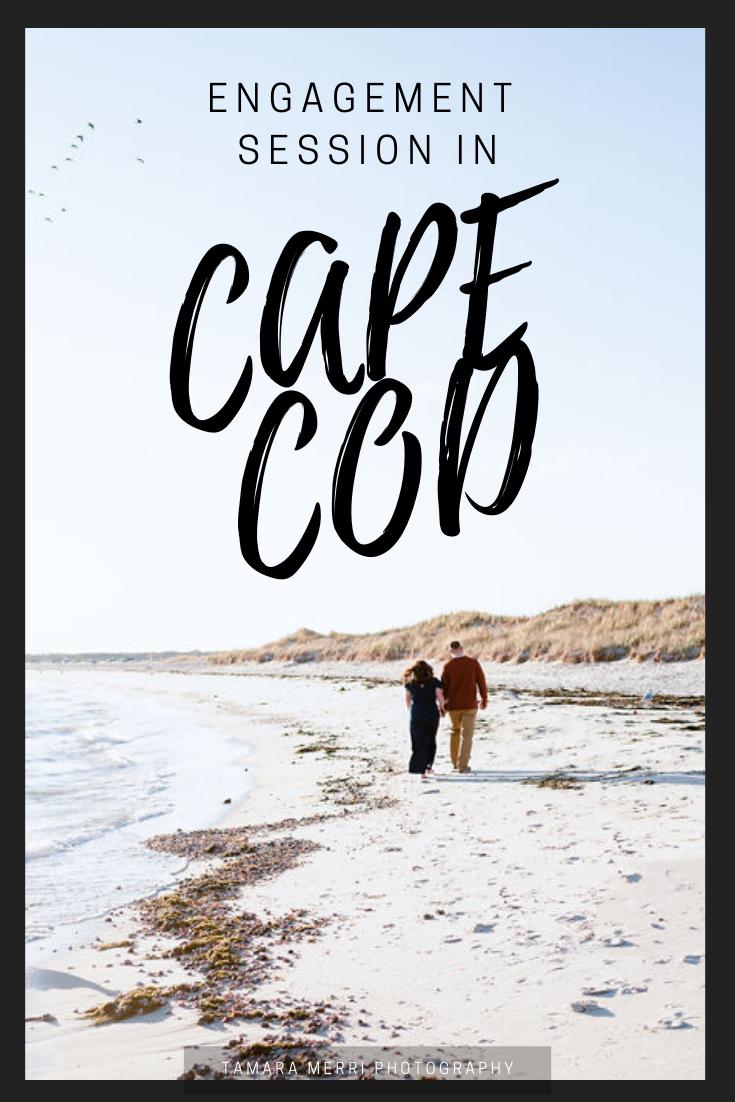 cape cod engagement session