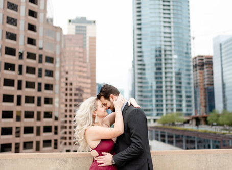 Downtown Austin Rooftop Engagement Session | Behind the Scenes Video