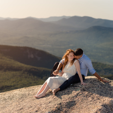 Mt Chocorua Adventure Session | New Hampshire White Mountains | New Hampshire Elopement Photographer