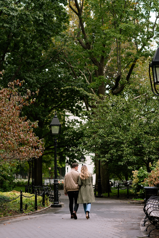 washington square park NYC couples photos