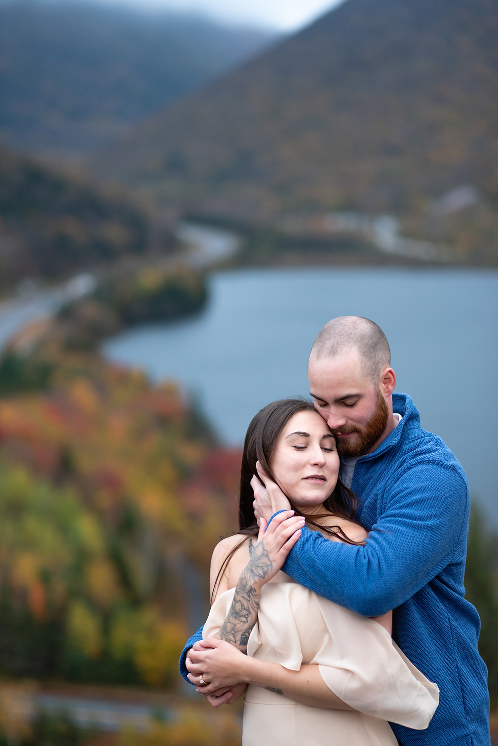 adventure elopement in the white mountains of new hampshire