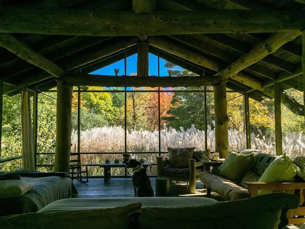 open air pond house in massachusetts