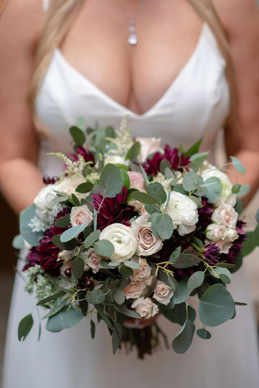 bridal bouquet from Audrey's Flower Shop