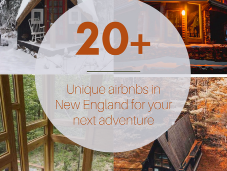 Unique Lodging for your New England Elopement