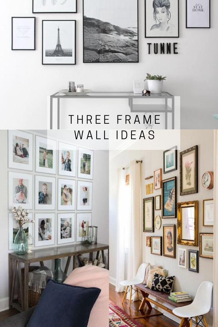 pinterest cover for three frame wall ideas