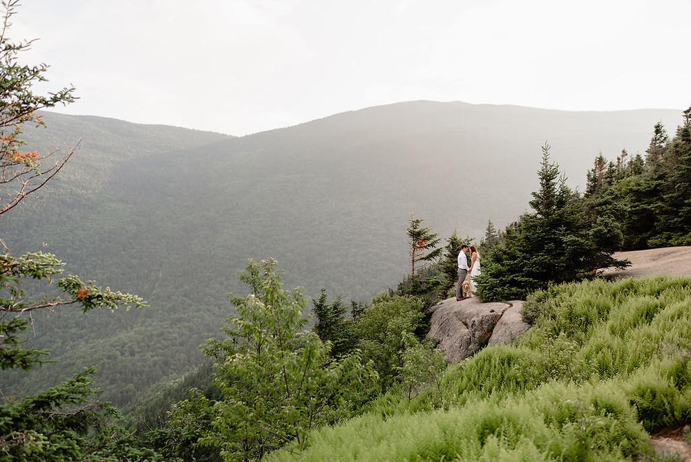 mount willard elopement ceremony