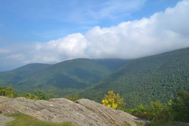 View on Mount Greylock from the Stone Ledge Vista