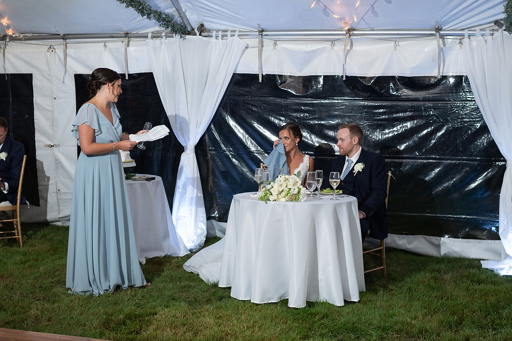 maid of honor speech makes the bride cry