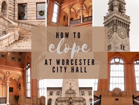 How to elope at Worcester City Hall | Worcester, Massachusetts