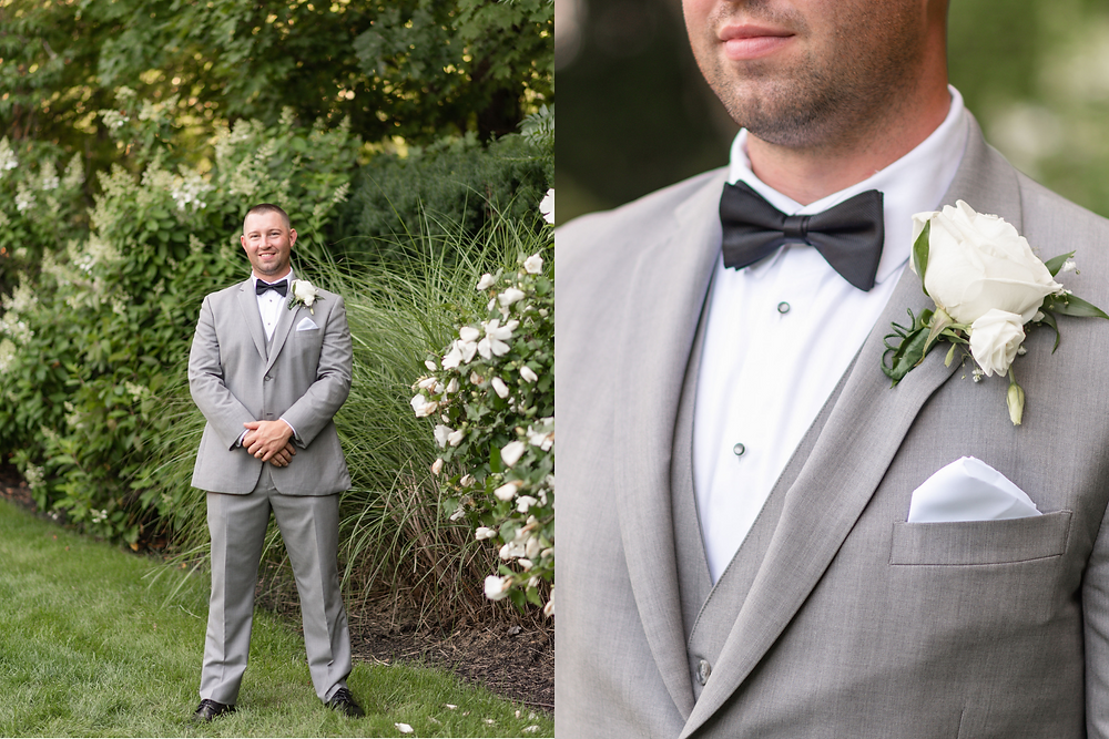groom portraits at chocksett inn gardens