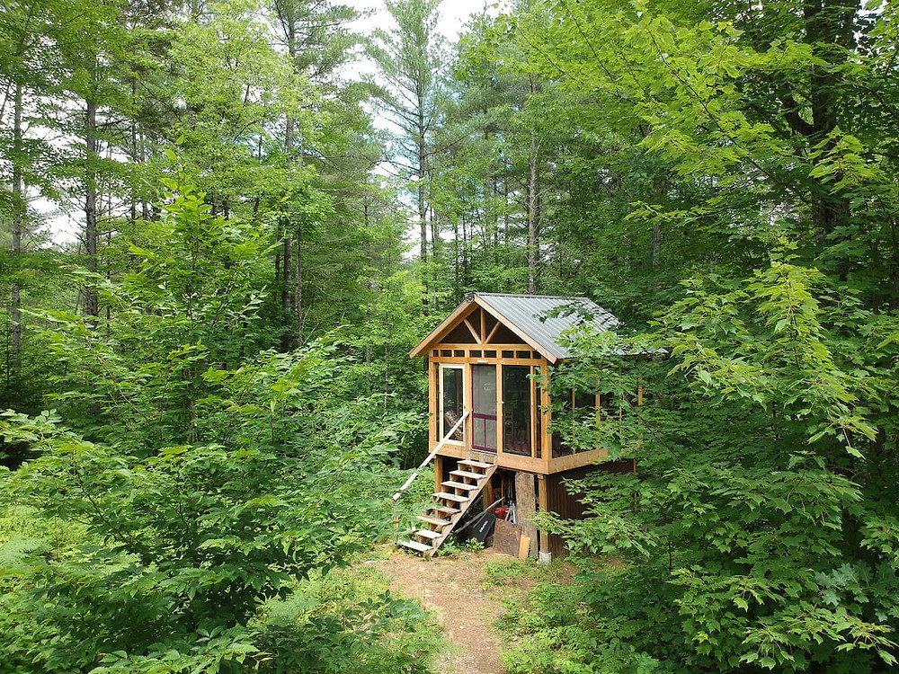 unique stay in a tiny house in maine