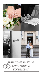 how to plan your courthouse elopement pinterest cover