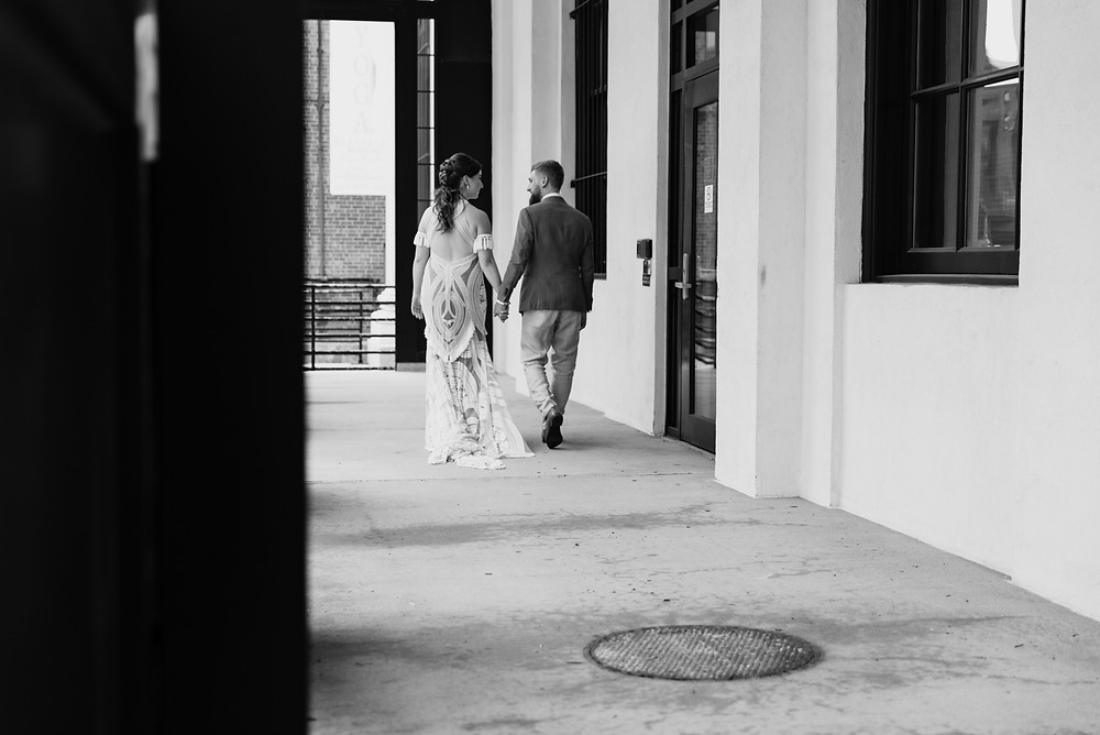 bride and groom first look in new haven, connecticut