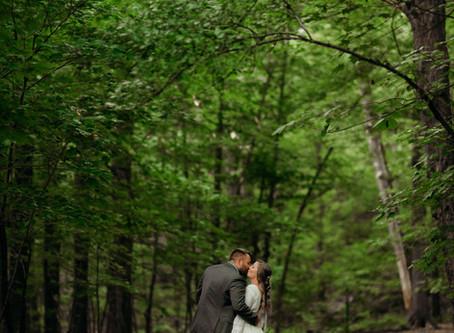 Middlesex Fells Elopement | Massachusetts Elopement Photographer