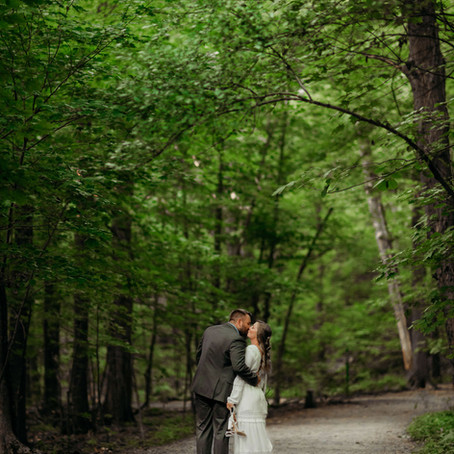 Middlesex Fells Elopement | Massachusetts Elopement Photographer