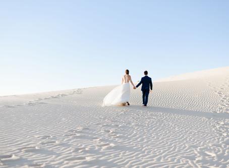 Monahans Sandhills Inspired Elopement | Texas Elopement Photographer