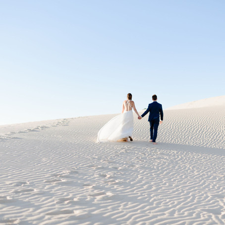 Monahans Sandhills Inspired Elopement | Texas Elopement Photographer