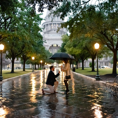 Austin Capitol Building Proposal | Austin Proposal Photographer
