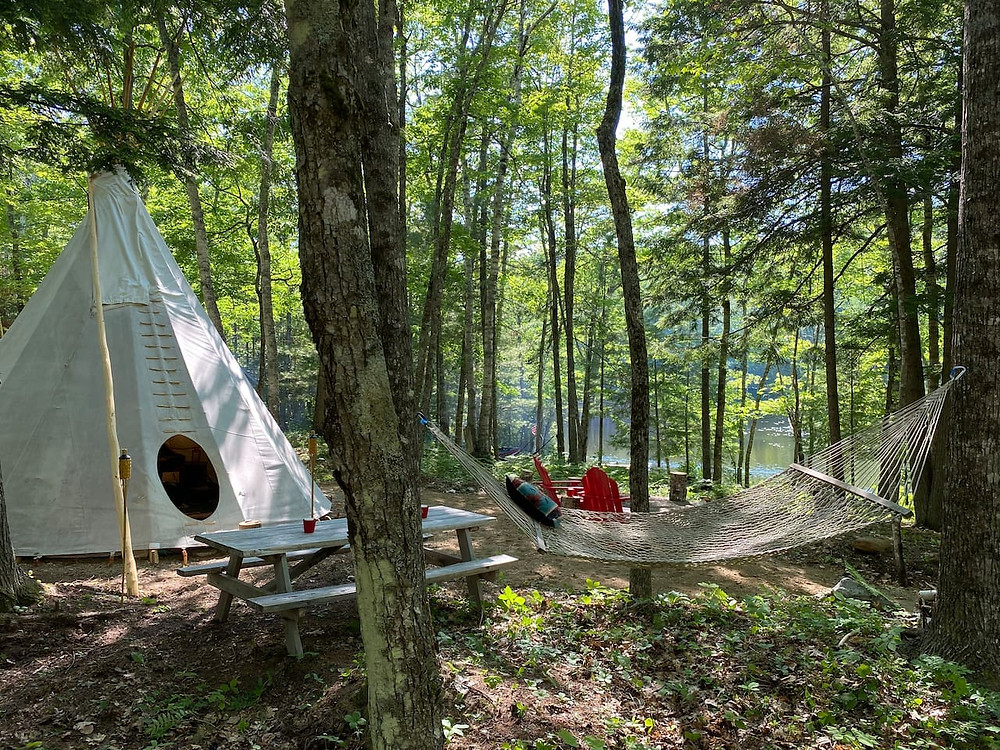 tipi in maine