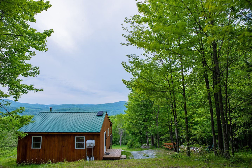 cabin in the woods in new hampshire